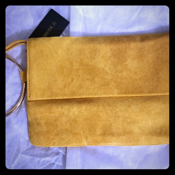 Forever 21 Handbags - Suede Clutch